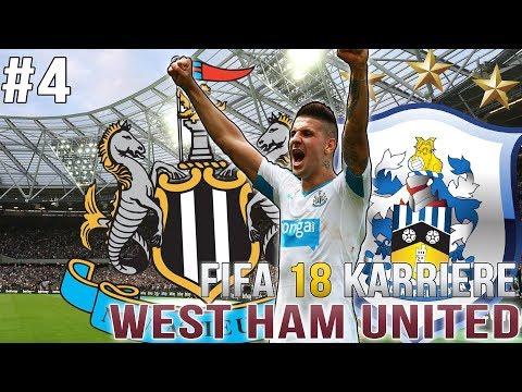 FIFA 18 KARRIERE #4 - ERSTES HEIMSPIEL im LONDON STADIUM! 🏟️😍 FIFA 18 WEST HAM KARRIEREMODUS