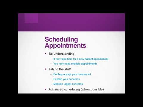 Tips for Making the Most out of Your Doctor's Appointment (Jan 2020)