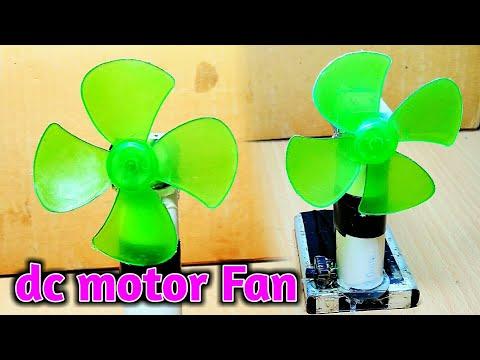 How to make mine Dc motor Fan | Dc motor Diy ideas