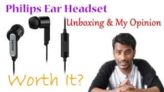 Philips SHE1405 Wired Headset - Unboxing & Review | Chetan Technical