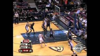 12.11.06 - VC vs Grizzlies 37pts (Nine 3-Pointers + Huge Dunk on Mike Miller)
