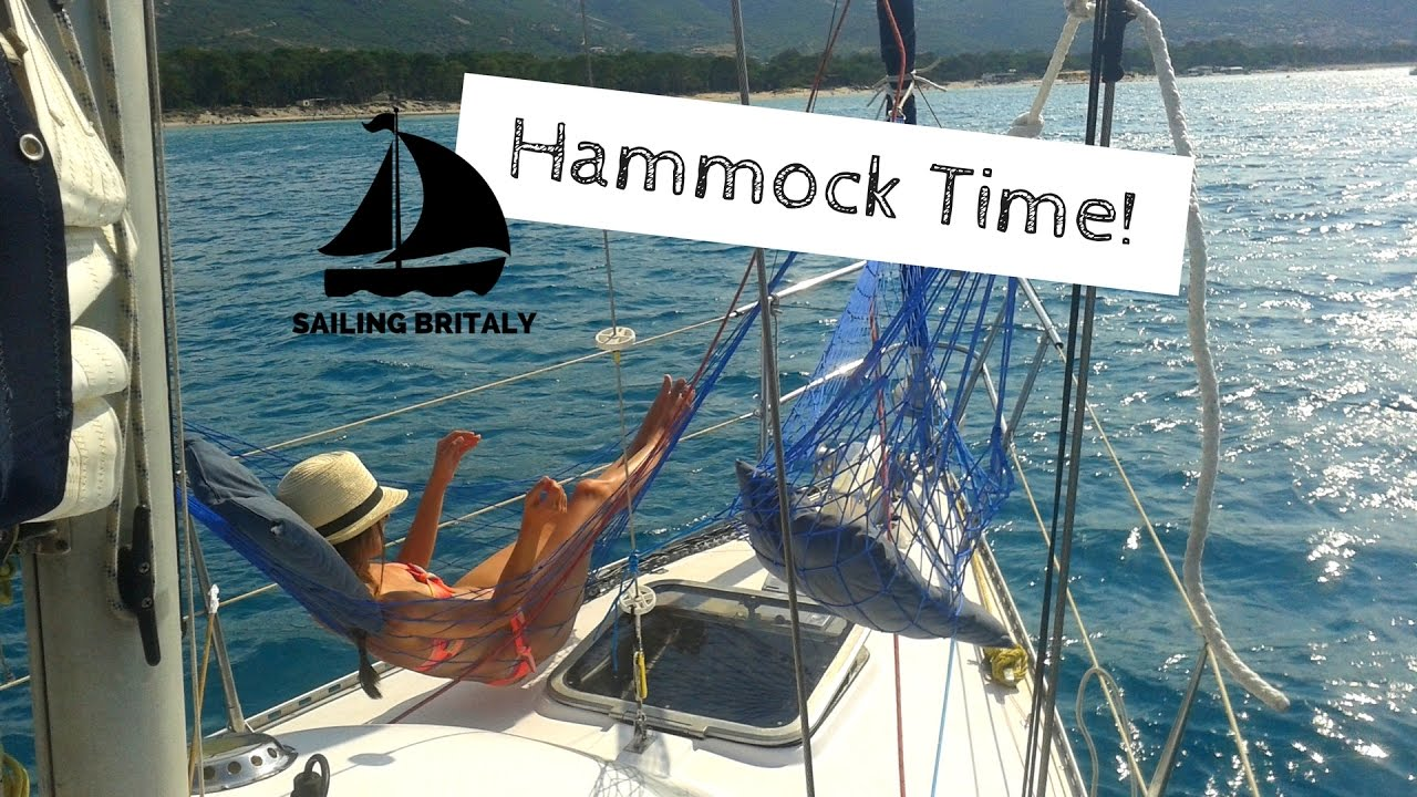 New How to Fit a Hammock (or two) on a Small Sailboat | ⛵ Sailing  VF48
