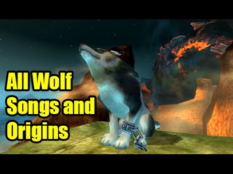 All Zelda Twilight Princess Wolf Songs and Origins of Songs