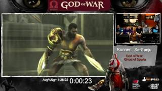 God of War Done Quick! God of War Speedrun Marathon! (part 3) - GoW GoS