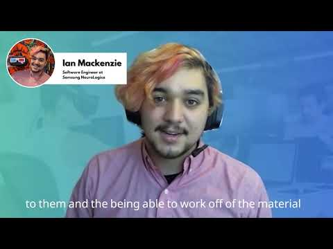 Ian Mackenzie ''Developers At Any Level Would Be Able To Learn Something''