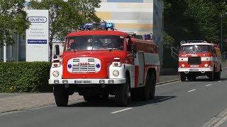 Brand Lagerhalle!   Einsatz Deutscher und Tschechischer Feuerwehren in Großschönau (EÜ)