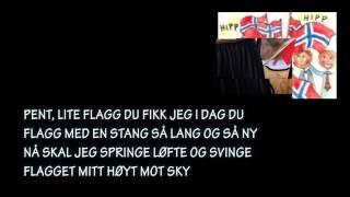 17 MAI SANG FOR DE SMÅ med tekst