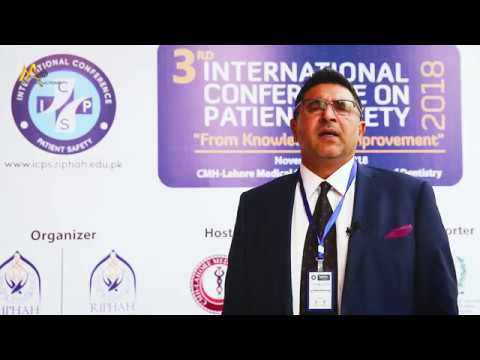 Hassan Muhammad Khan Interveiw  on ICPS 3rd conference by RIHIS