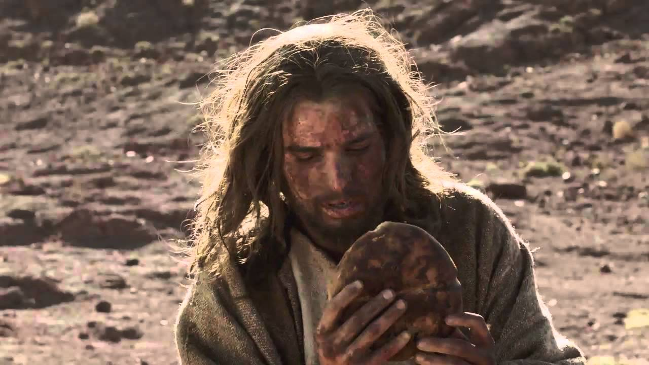 Jesus Temptation In Desert Youtube