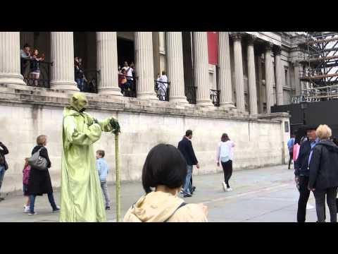 Trafalgar Square - London - Nelson