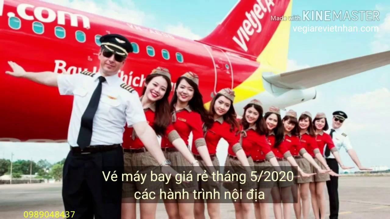 Vé máy bay giá rẻ tháng 5/2020