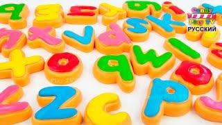 Учим английский алфавит с животными  | Учим названия животных | Учим буквы английского алфавита