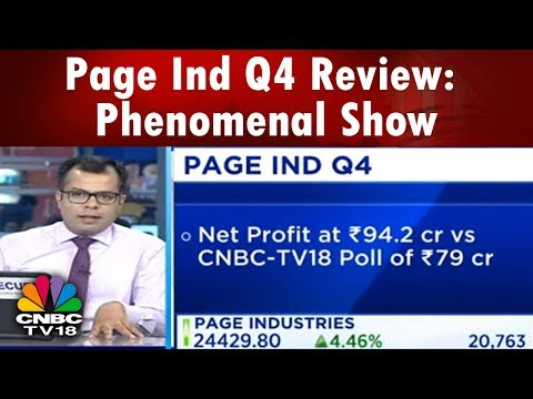 Page Industries Gains 1100 pts Post Phenomenal Q4 Numbers | #4QWithCNBCTV18