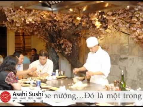 Nhà hàng Triều Nhật Asahi Sushi 1 - 288 Bà Triệu