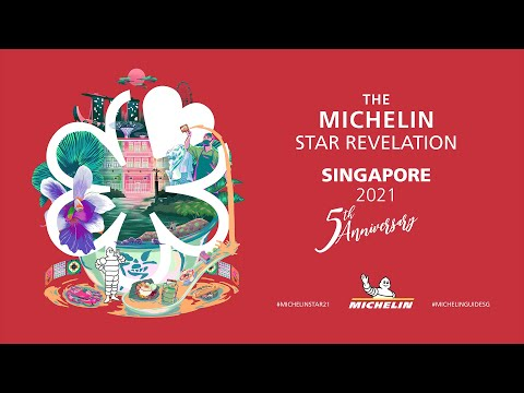 MICHELIN Guide Singapore 2021 Star Revelation