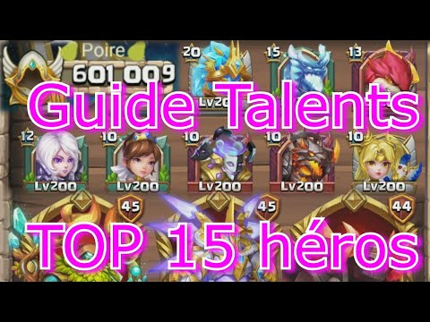 Guide Talents/Badges/Archidemons - Castle Clash