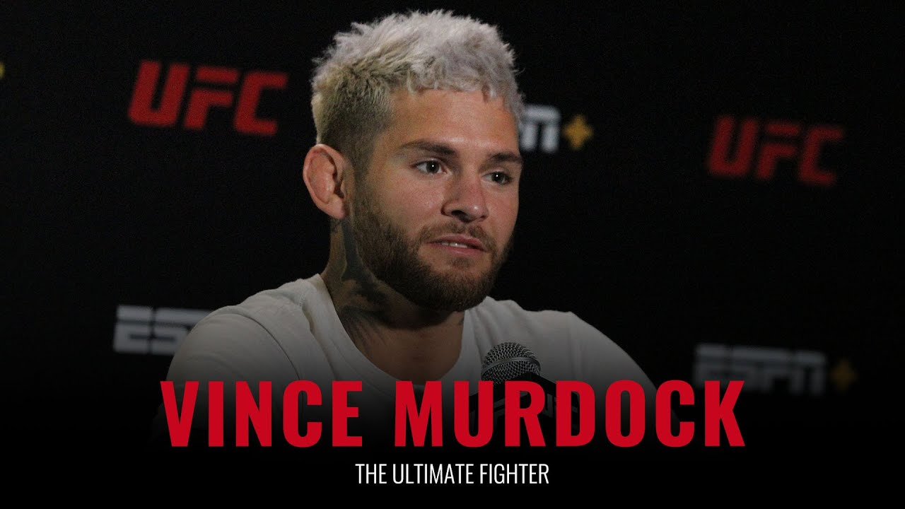 Download The Ultimate Fighter: Vince Murdock full pre-show interview