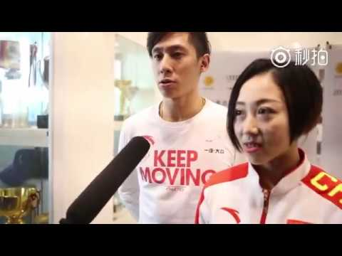"Wenjing Sui Cong Han Interview "" Focusing on Our Natural Reaction""  w/Eng Subs"
