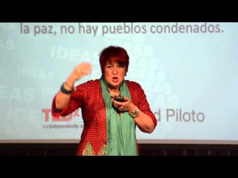 Todo pueblo está en condiciones de alcanzar la paz | Diana Uribe | TEDxUniversidadPiloto