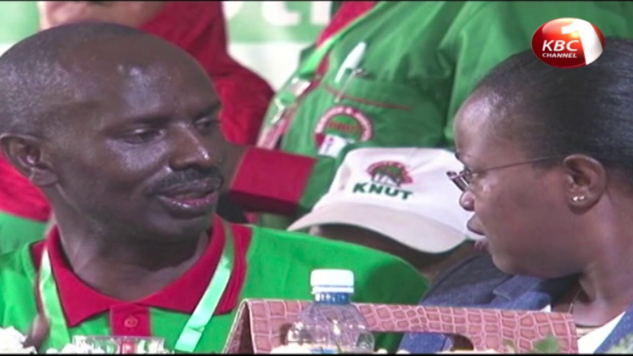 A section of KNUT members demand the immediate resigntion of Secretary General Wilson Sossion
