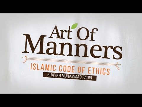 [ Official Trailer ] Art of Manners: Islamic Code of Ethics | Mohammad Faiqh | Almaghrib Institute