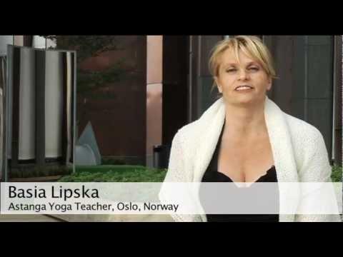 Basia Lipska on Astanga Yoga Studio