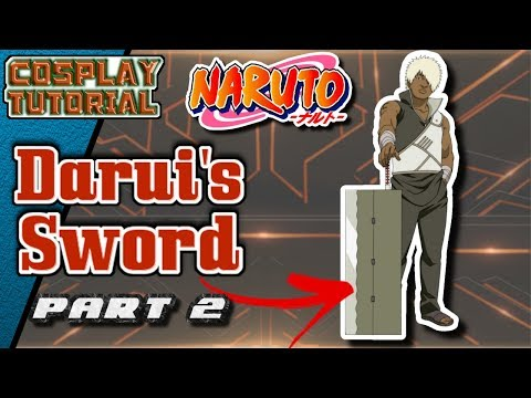 [Tutorial] - Darui's Sword - [Naruto] - Part 2