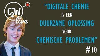 KNCV Webinar Digitale chemie: nieuwe scheikunde rationeel ontwikkelen met Thomas Hansen