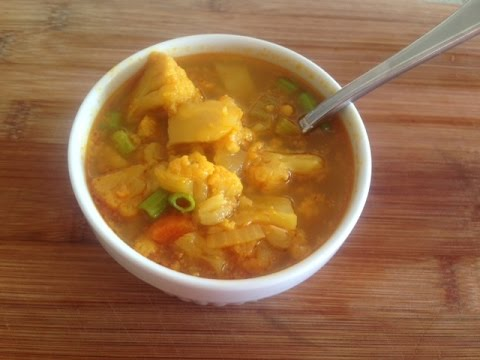 Quick And Easy Cauliflower Soup Recipe | Fall Recipes