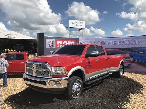 "Ram Unveils New 2018 ""Harvest Edition"" Pickup Trucks at Farm Progress Show Today"