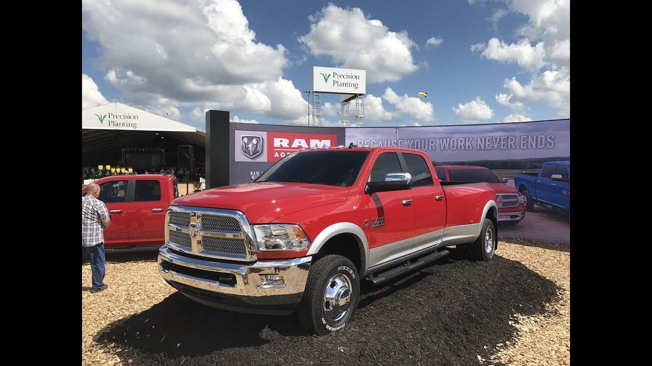 Ram Unveils New 2018 Harvest Edition Pickup Trucks At Farm Progress Show Today