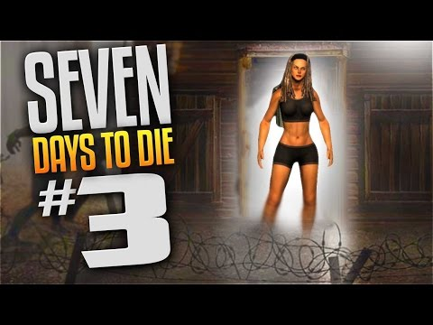 7 Days To Die Gameplay - Ep 3 - DA HOLD UP! (Let's Play 7 Day to Die Multiplayer Alpha 14.7)