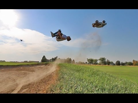 FLIPS WITH RC MONSTER TRUCK!