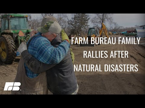 Farm Bureau Family Rallies to Help After Natural Disasters