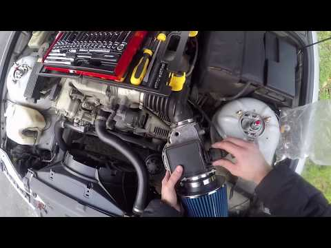 BMW E36 316i eBay Air Filter Install