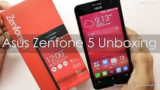 Asus Zenfone 5 Unboxing & Hands On Overview