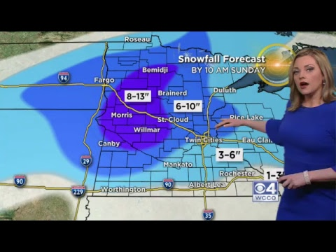 Lisa Meadows has the latest update on a winter storm heading for Minnesota. – Minnesota Alerts