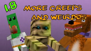 Repeat youtube video [1.8] Mod Spotlight | More Creeps and Weirdos Updated?!?!?!?!?!