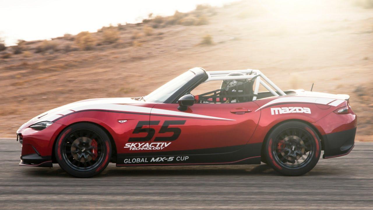 Exceptional 2016 Mazda MX 5 Miata Global Cup Car At #SEMA2014   YouTube