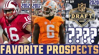 "2020 NFL Draft Underrated Players ""MY GUYS"" 