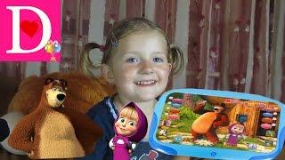 МАША И МЕДВЕДЬ детский планшет обзор планшета MASHA AND the BEAR kids tablet review tablet