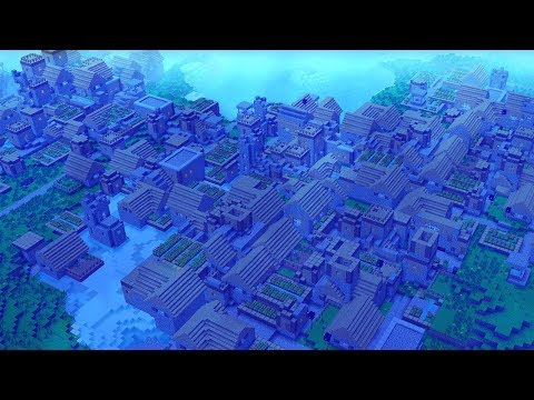 WORLD'S BIGGEST UNDERWATER MINECRAFT VILLAGE!?