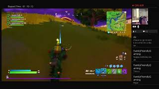 Fortnite Birthday Triple Stream