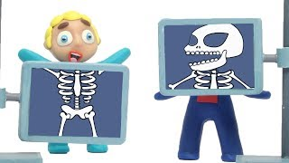 Diana and friends make an x-ray 💗 Cartoons For Kids