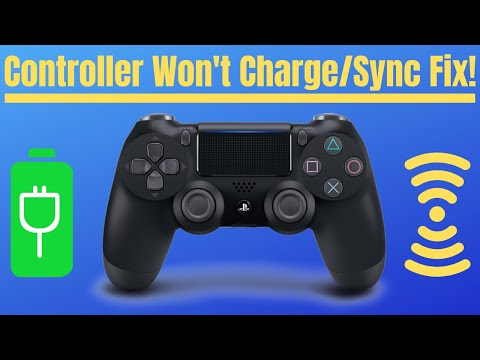 How to Repair Playstation 4 Dualshock 4 Controller Charging Issue - PS4 DS4 won't charge sync