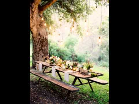 how to decorate a park picnic table 2
