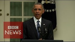 'Gay Marriage ruling is a victory for America' Barack Obama - BBC News