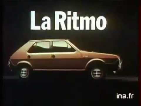 Publicidad Fiat Ritmo 65 1983 Francia
