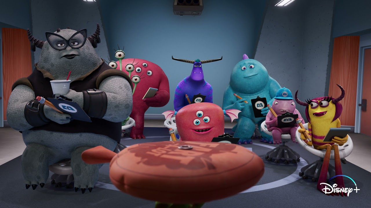 The Whoopee Cushion | Monsters at Work | Disney+