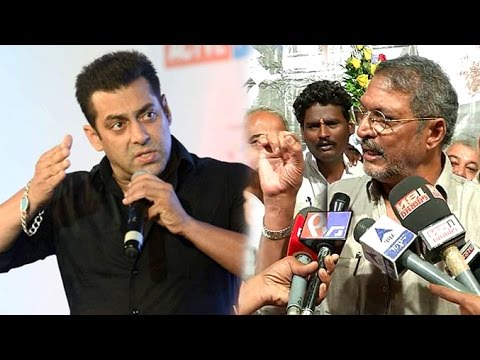 ANGRY Salman Khan On Nana Patekar's INSULT To His Pakistani Actors Are Not Terrorists Comment